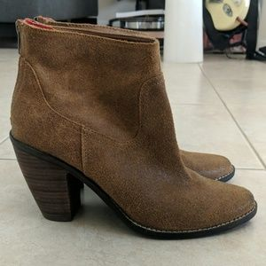 DV by Dolce Vita | Brown Suede Booties | Size 9